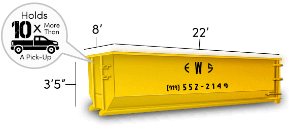 Image of dumpster: 20YD Roll-Off
